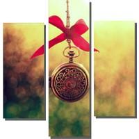 Dekor Sevgisi 3 Parçalı Kolye Tablosu 80x80 cm