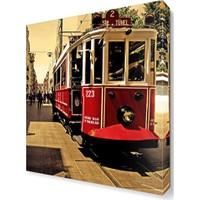 Dekor Sevgisi Tramway2 Canvas Tablo 45x30 cm