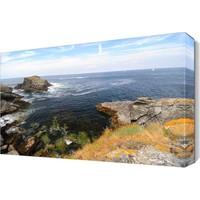 Dekor Sevgisi Kayalıklar ve Deniz Manzarası Canvas Tablo 45x30 cm
