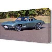 Dekor Sevgisi Connie Corvette Canvas Tablo 45x30 cm