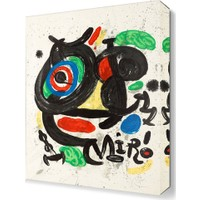 Dekor Sevgisi Joan Miro5 Canvas Tablo 45x30 cm