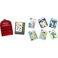Logiko Midi - Akıllı Düğmeler 6-8 Yaş Konsantrasyon 6 Kitapçık+Çerçeve