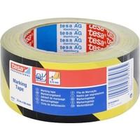 Tesa Yer İşaretleme Ve İkaz Bandı Tesaflex® 60760 Pv1 33M*50Mm Sarı/Siyah