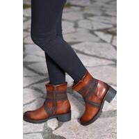 E-G Ayakkabı Taba Kadın Bot-K220