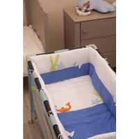 Aybi Baby 6 Parça Park Yatak Uyku Seti Kenar Korumalı
