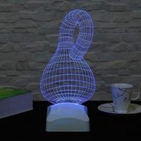 Decor Desing 3 Boyutlu Geometrik Lamba V23D005