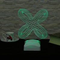 Decor Desing 3 Boyutlu Modern Geometrik Lamba V23D007