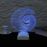 Decor Desing 3 Boyutlu Modern Geometrik Lamba V23D010