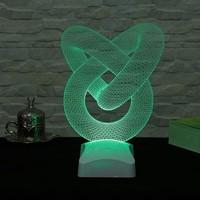 Decor Desing 3 Boyutlu Spiral Boru Lamba V23D026