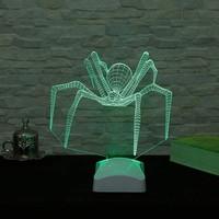 Decor Desing 3 Boyutlu Örümcek Lamba V23D065