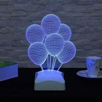 Decor Desing 3 Boyutlu Balonlar Lamba V23D103