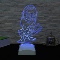 Decor Desing 3 Boyutlu Gollum Lamba V23D156