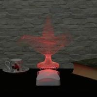 Decor Desing 3 Boyutlu Sihirli Lamba V23D175