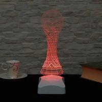 Decor Desing 3 Boyutlu Dünya Kupası Lamba V23D177