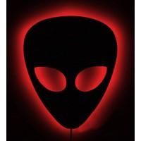 Decor Desing Gölge Lamba Kırmızı Alien Sembolü Glmb022