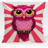 Decor Desing Baykuş Yastık Kılıfı Owl001