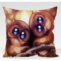 Decor Desing Baykuş Yastık Kılıfı Owl039