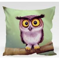 Decor Desing Baykuş Yastık Kılıfı Owl048