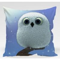 Decor Desing Baykuş Yastık Kılıfı Owl049