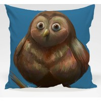 Decor Desing Baykuş Yastık Kılıfı Owl053