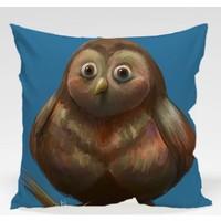 Decor Desing Baykuş Yastık Kılıfı Owl054