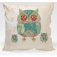 Decor Desing Baykuş Yastık Kılıfı Owl056