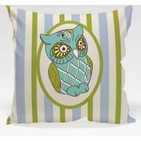 Decor Desing Baykuş Yastık Kılıfı Owl058