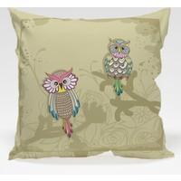 Decor Desing Baykuş Yastık Kılıfı Owl065