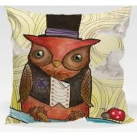Decor Desing Baykuş Yastık Kılıfı Owl073