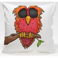Decor Desing Baykuş Yastık Kılıfı Owl077