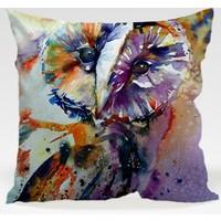 Decor Desing Baykuş Yastık Kılıfı Owl083