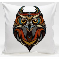 Decor Desing Baykuş Yastık Kılıfı Owl086