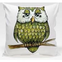 Decor Desing Baykuş Yastık Kılıfı Owl089