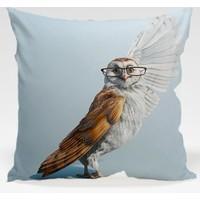 Decor Desing Baykuş Yastık Kılıfı Owl091