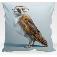 Decor Desing Baykuş Yastık Kılıfı Owl093