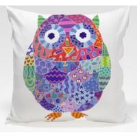 Decor Desing Baykuş Yastık Kılıfı Owl099