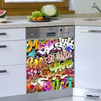 Decor Desing Beyaz Eşya Sticker Bev20