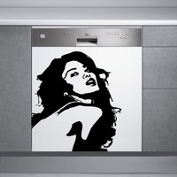 Decor Desing Beyaz Eşya Sticker Bev57