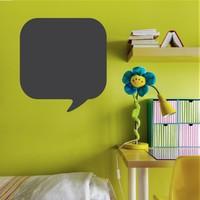 Decor Desing Konuşma Baloncuğu Yazılabilir Sticker Ys34