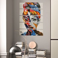 Decor Desing 5 Parçalı Dekoratif Tablo Bsrm036