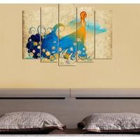 Decor Desing 5 Parçalı Dekoratif Tablo D5Tp52