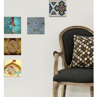 Decor Desing Dekoratif 5'li Tablo Utb111