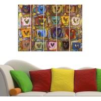 Decor Desing 5 Parçalı Dekoratif Tablo Vsrm017