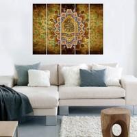 Decor Desing 5 Parçalı Dekoratif Tablo Vsrm053