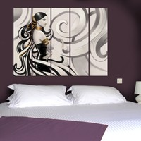 Decor Desing 5 Parçalı Dekoratif Tablo Vsrm076