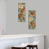 Decor Desing Dekoratif İki Li Mdf Tablo Xtp254