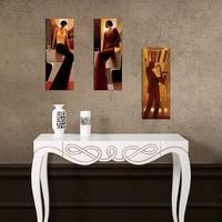 Decor Desing Dekoratif Üç Lü Mdf Tablo Xtp275