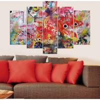 Decor Desing 5 Parçalı Dekoratif Tablo Y5Tp013