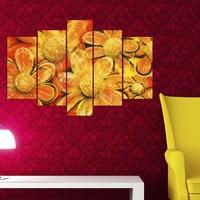 Decor Desing 5 Parçalı Dekoratif Tablo Y5Tp030