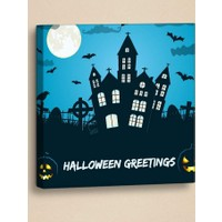 Decor Desing Halloween Kanvas Tablo Hl023